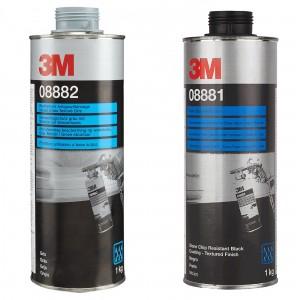 Антигравійне текстуроване покриття 3M™ на водній основі (1кг)