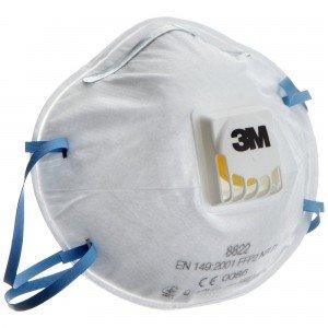 Протиаерозольний респіратор 3M™ з клапаном захист FFP2