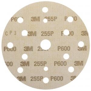Абразивний диск 3M™ Hookit™ 255P+ Gold+ ø150мм