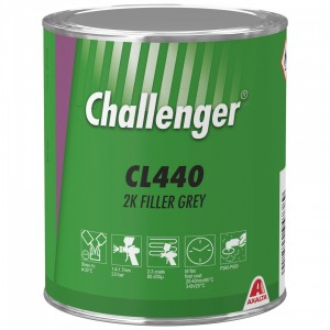 Грунт-наповнювач Challenger 2K Filler 1 л сірий