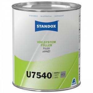 Грунт наповнювач Standox VOC System Filler U7540 3,5 л сірий