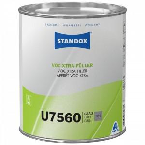 Грунт наповнювач Standox U7560 VOC-XTRA-Fueller 3,5л світло-сірий