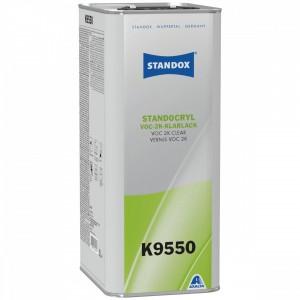 Лак Standocryl VOC 2K Clear K9550 5 л