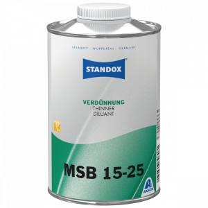 Розчинник Standox Thinner MSB 15-25 для бази і перламутру 1 л