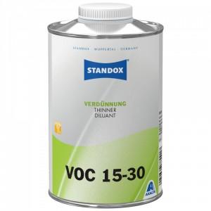 Розчинник Standox Thinner VOC 15-30 для матового лаку 1 л
