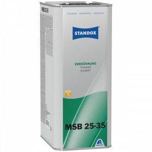 Розчинник Standox Thinner MSB 25-35 для бази повільний 1 л, 5 л