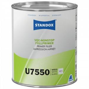 Грунт-наповнювач Standox безхромний VOC Nonstop Primer Filler U7550 3.5 л білий