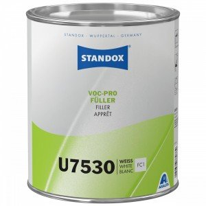 Standox U7530 VOC-PRO-Fueller Безусадковий надшвидкий грунт-наповнювач білий 3,5 л